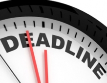 Conference Payment Deadline