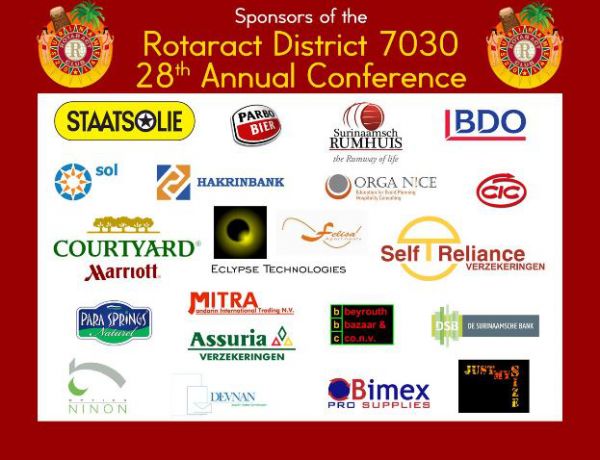 28th District Conference Sponsors